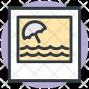 Landscape Scenery Ocean Icon