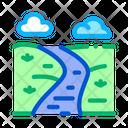 Long River Mountain Icon