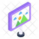 Painting Landscape Board Scenery Icon