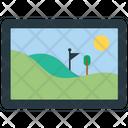 Landscape Picture Picture Photo Frame Icon