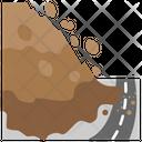 Landsliding Natural Disaster Emergency Disaster Icon
