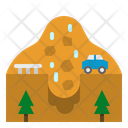 Landslip Insurance Avalanche Icon