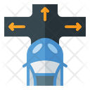 Lane Assistance System Icon