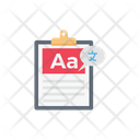 Translation Dictionary Files Icon