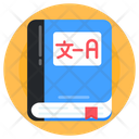 Dictionary Language Book Language Notebook Icon
