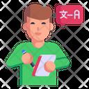 Language Course Icon