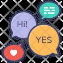 Language Learning Text Translation Icon