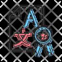Translation Service Help Icon