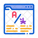 Online Web Site Icon