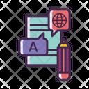 Language Translation Icon