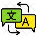 Language Translator Script Translate Language Education Icon