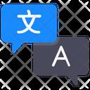Language Translator International Language Multiple Language Icon