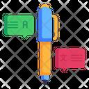 Language Writing Icon