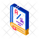 Dictionary Education Book Icon