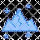 Lanscape Nature Mountain Icon