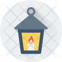 Lantern Flame Candle Icon