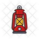 Hurricane Lamp Icon