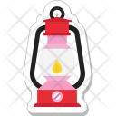 Lantern Flame Candle Icon