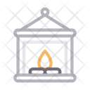 Lantern Candle Flame Icon