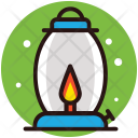 Fire Lantern Flashlight Icon