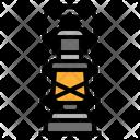 Lantern Retro Lamp Icon