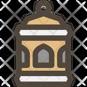Lantern Islamic Lamp Icon