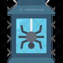 Lantern Spider Candle Icon