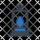 Lantern Fire Flame Icon