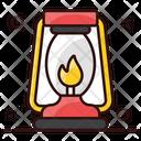 Lantern Oil Lamp Camping Lantern Icon