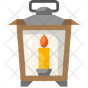 Lantern Candle Fire Icon