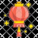 Lantern Asian Chinese Icon