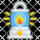 Lantern Flame Fire Icon