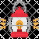 Lantern Led Lamp Icon