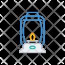 Lantern Candle Light Icon