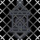 Lantern Bulb Icon