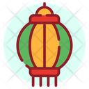 Gaslight Chinese Lantern Lamp Icon