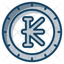 Lao Kip Coin Currency Icon
