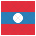 Laos National Country Icon