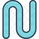 Lap Pipe Round Icon