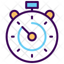 Lap Schedule Stopwatch Icon