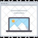 Laptop App Web Icon