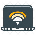 Laptop Wifi Signal Icon
