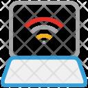 Laptop Wifi Display Icon