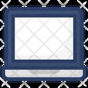 Laptop Microcomputer Minicomputer Icon