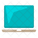 Laptop Office Supply Icon