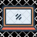 Laptop Computer Screen Icon
