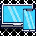 Laptop Smartphone Responsive Website Icon