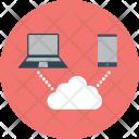 Laptop Multimedia Interface Icon