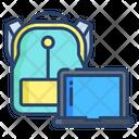 Laptop Bag Office Bag Icon