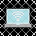 Laptop Notebook Broadband Icon